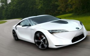 Download Toyota FT HS Speedy Car Hd Wallpaper