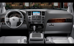 Download 3D Nissan Armada Interior HdWallpaper