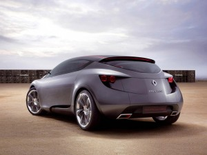 Download 3D Renault Megane Coupe Hd Wallpaper
