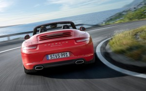 Download Calm Carrera Cabriolet Hd Wallpaper