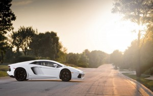 Download Cool Lamborghini SunSet Hd Wallpaper
