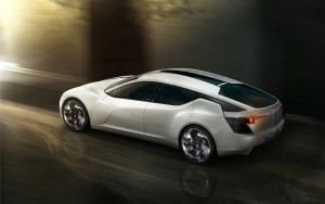 Download Foggy Opel Flextreme GT Hd Wallpaper