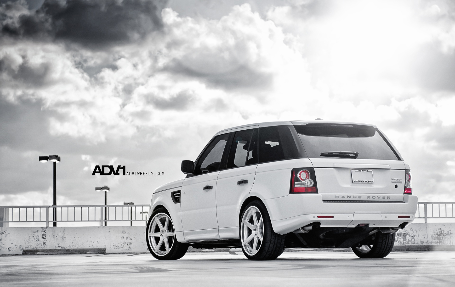 Glamorous Range Rover