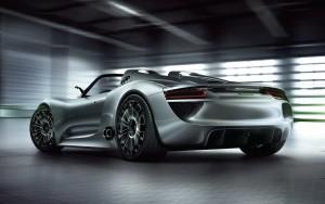 Download Gleamy Porsche918 Spyder Hd Wallpaper