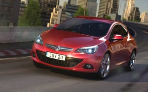 Download Gleamy Vauxhall Astra Car HdWallpaper