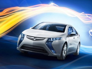 Download Lush Vauxhall Ampera Car Hd Wallpaper