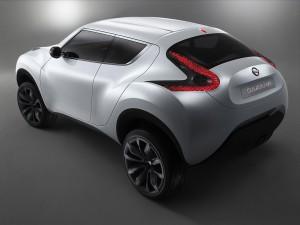 Download Nissan Qazana 3D Concept Hd Wallpaper