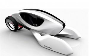 Download Nissan V2G 3D Concept Car HdWallpaper