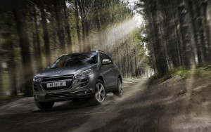 Download Peugeot 4008 Lights Beam Hd Wallpaper