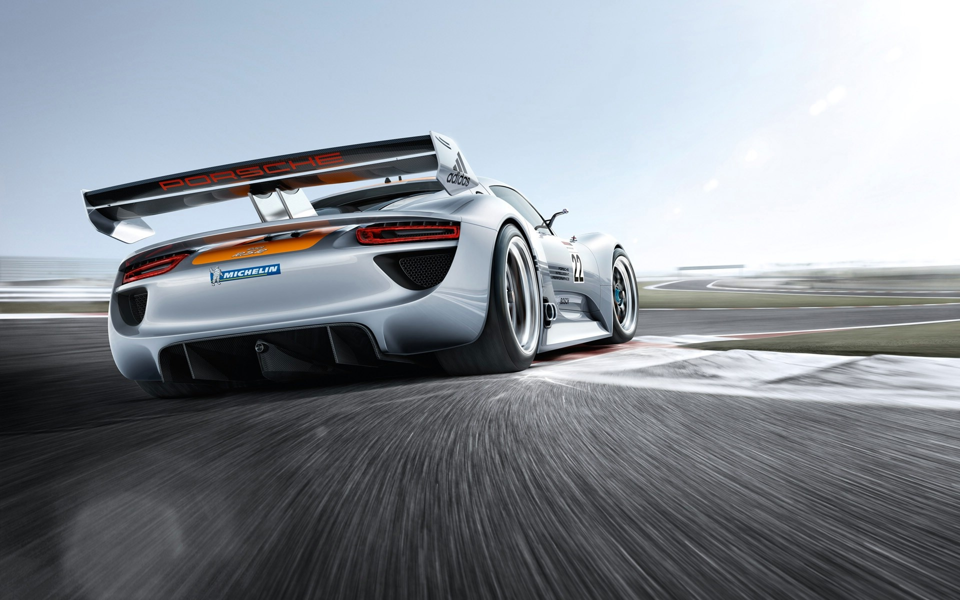 porsche 918 rsr 7 stunts hd wallpaper |