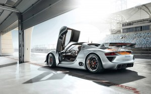 Download Porsche Car Cool Doors Hd Wallpaper