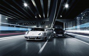 Download Porsche Cayman Racing Hd Wallpaper