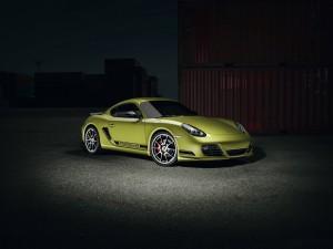 Downloa Porsche Cayman SpotLight Hd Wallpaper