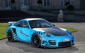 Download Porsche GT2 Sports Car Hd Wallpaper
