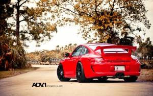 Download Porsche GT3 ADV1 Glint Hd Wallpaper