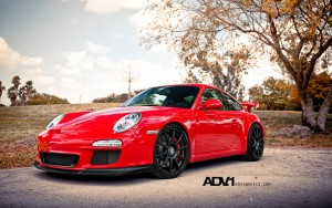 Download Porsche GT3 ADV1 Lavish  Hd Wallpaper
