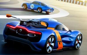 Download Renault Alpine Sharp Car Hd Wallpaper