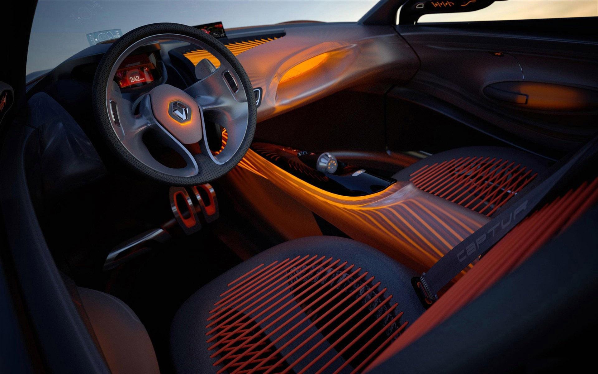 Download Renault Captur 3DInterior HdWallpaper