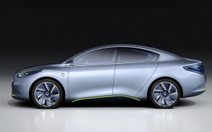Download Renault Fluence ZE 3D Car HdWallpaper