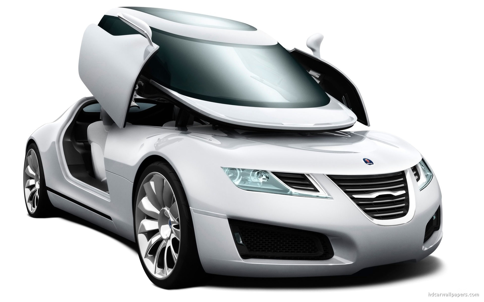 download Saab Aero X Stunnic Door Hd Wallpaper