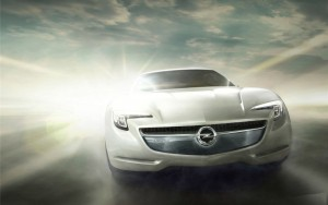 Download Smogged Opel Flextreme GT HdWallpaper
