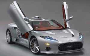 Download Sparkling Spyker C8 Car Hd Wallpaper