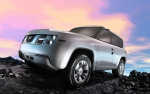 Download Terranaut Nissan 3D Car Hd Wallpaper