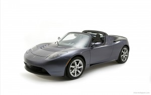 Download Tesla Roadster Sports Car Hd