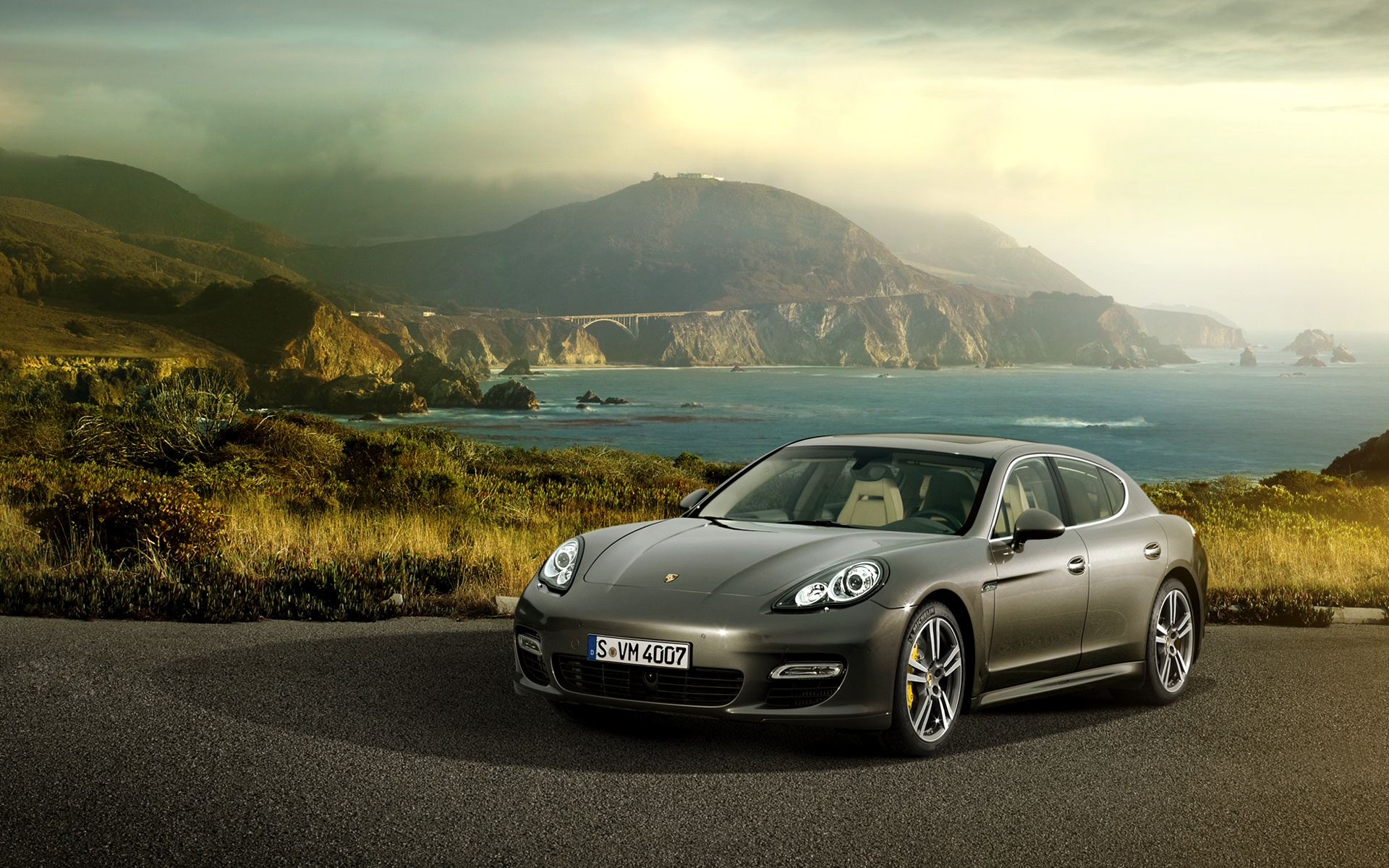 Download Porsche Panamera Dusky Hd Wallpaper
