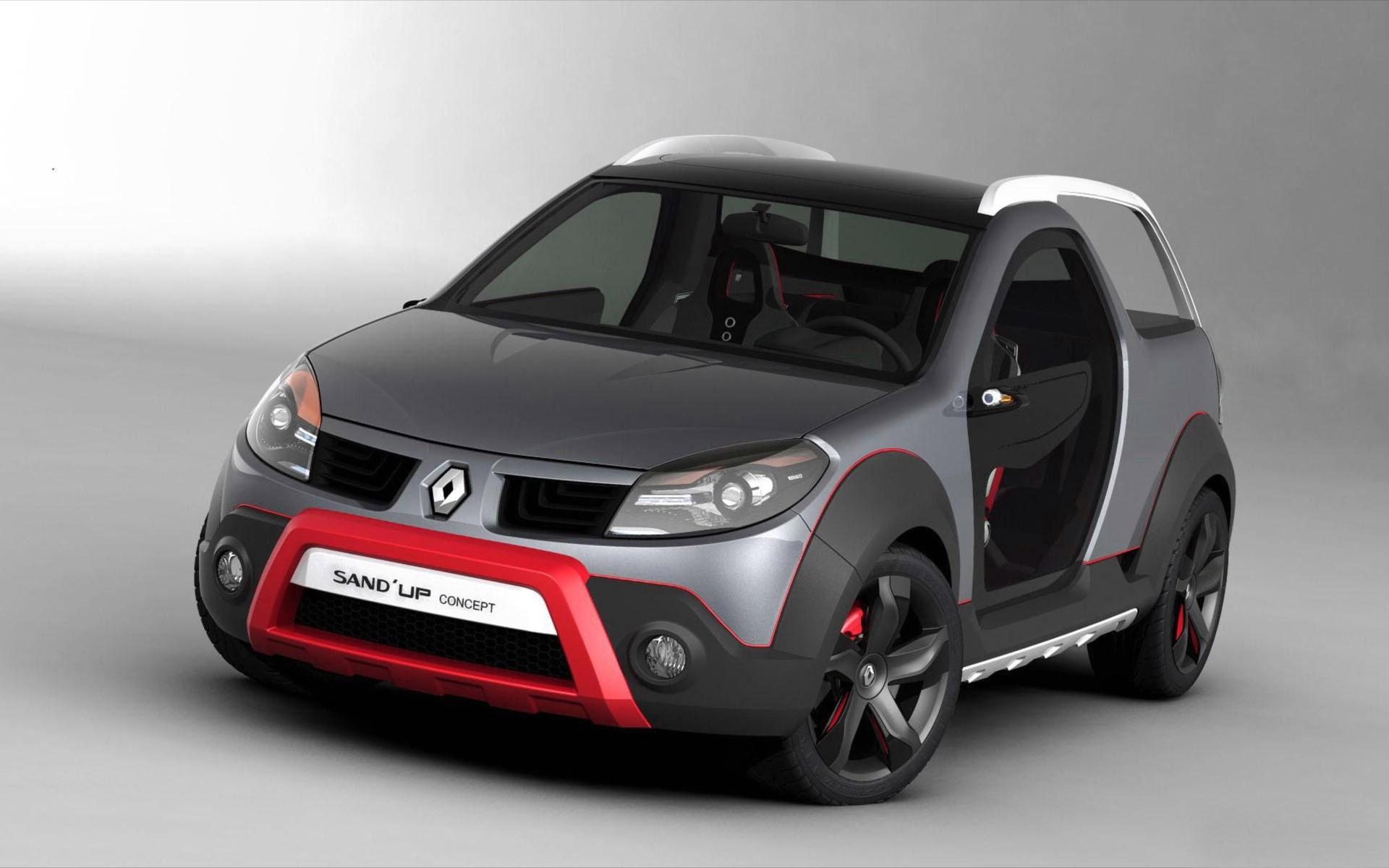 download Renault Sand Up Mini Car Hd Wallpaper