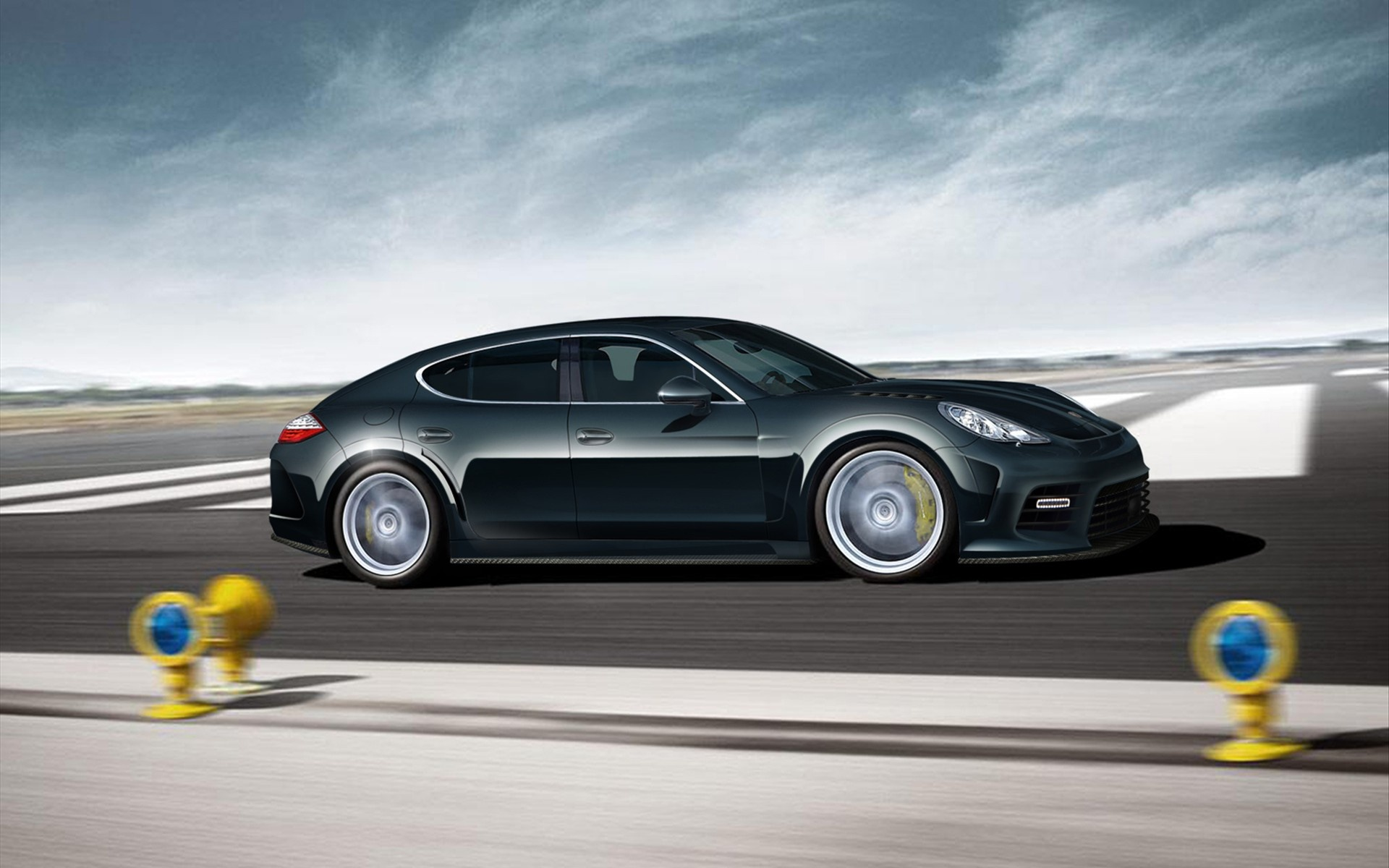download Speedy Mansory Porsche Hd Wallpaper