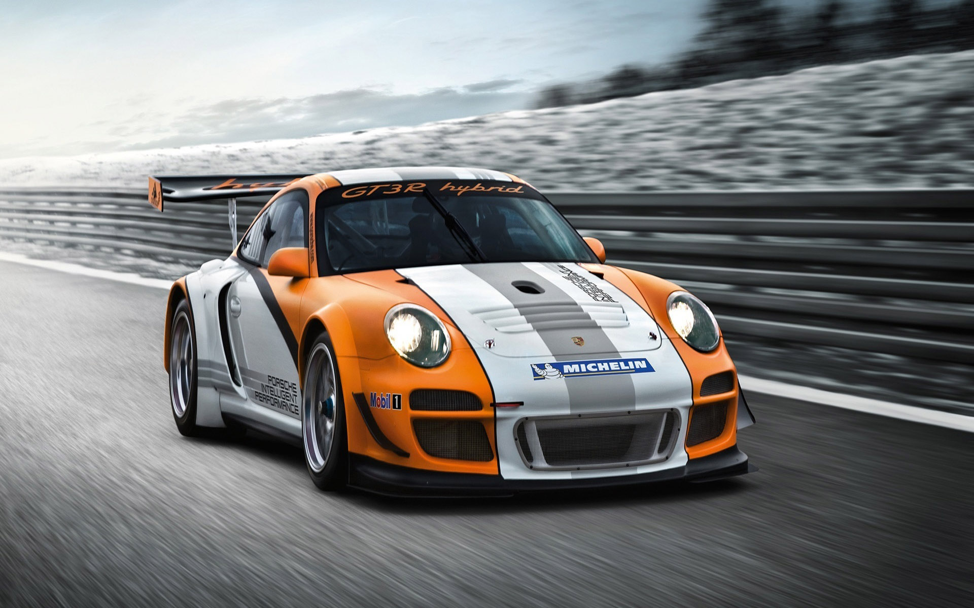 download Speedy Porsche Hybrid Hd Wallpaper