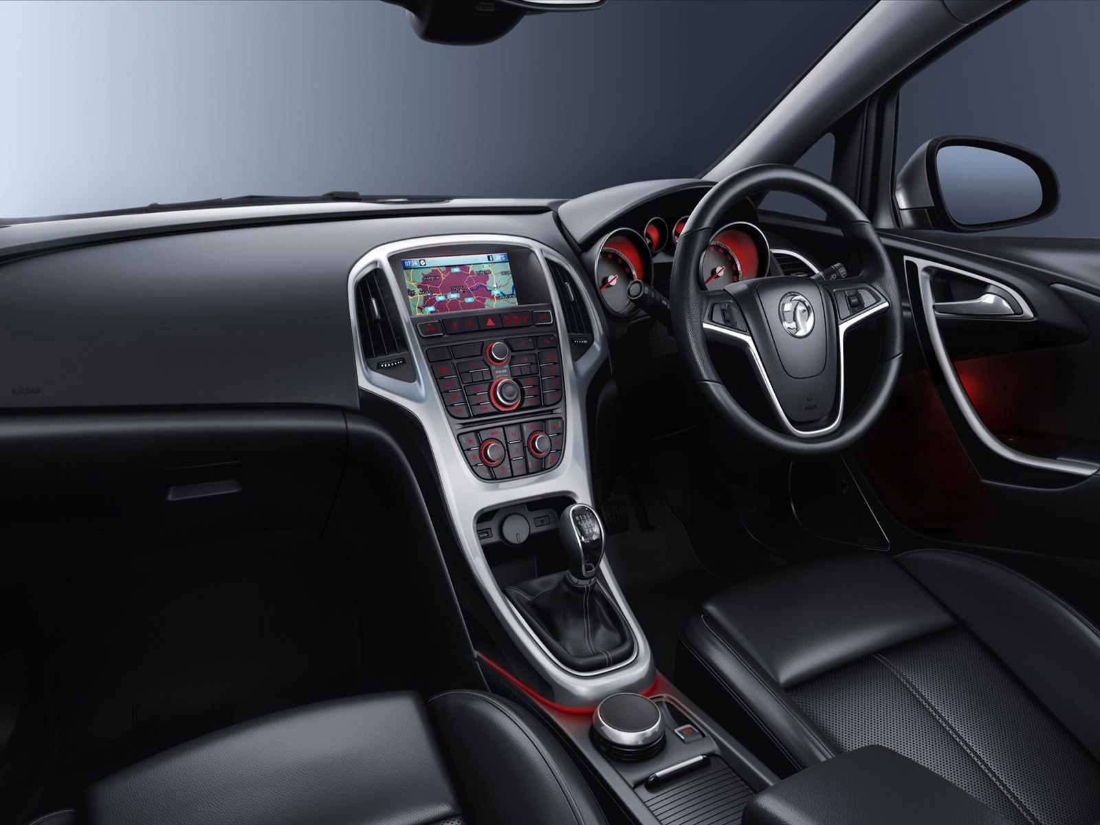 download Vauxhall Astra Interior Hd Wallpaper