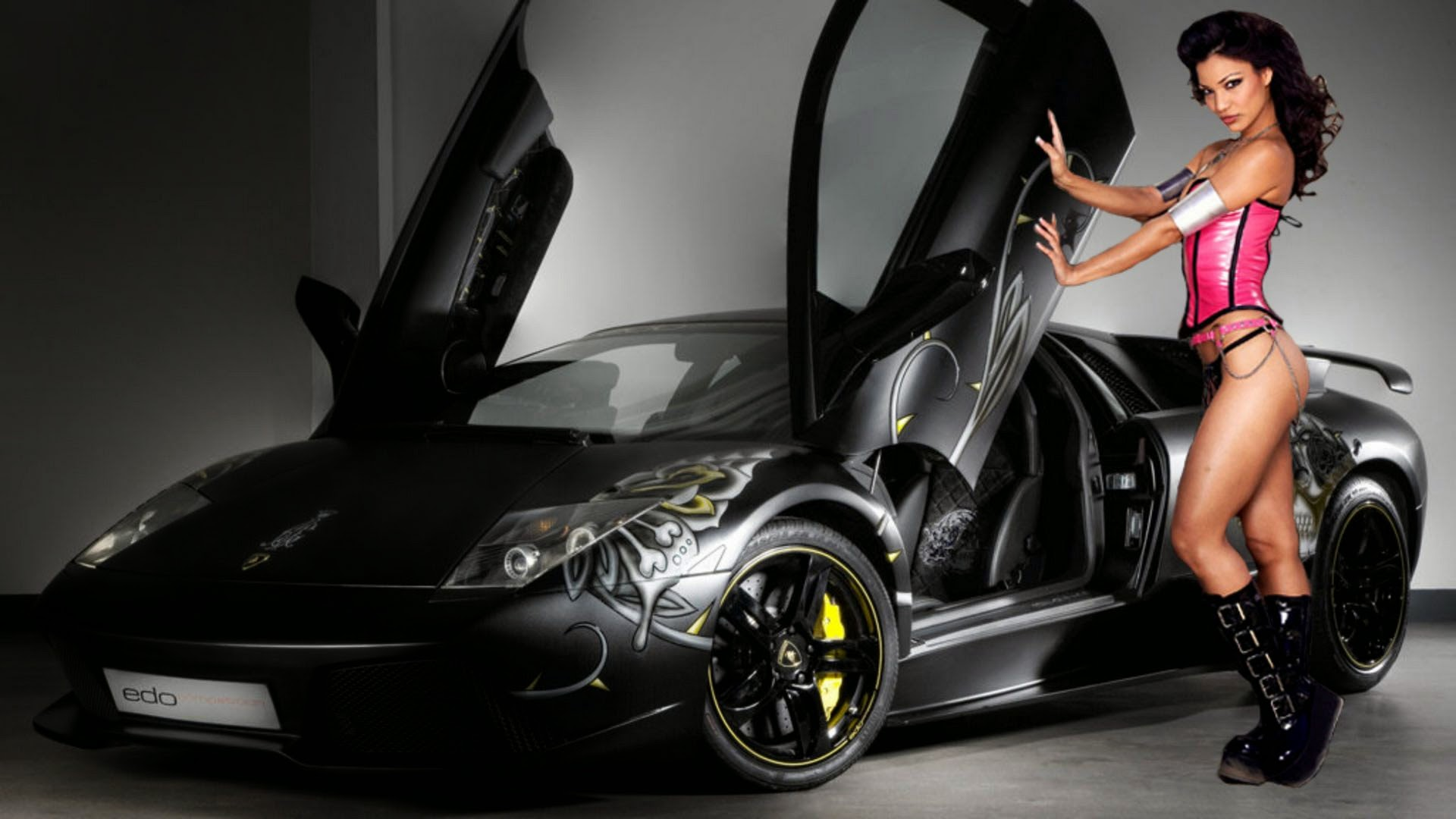 download EDo car With Model Girl