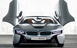 download 2015-BMWi8 Spider Car