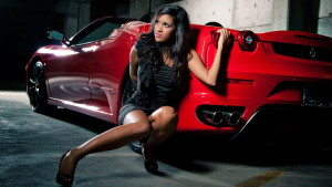 odwnload Ferrari Car With Cute Model Expensive Ever