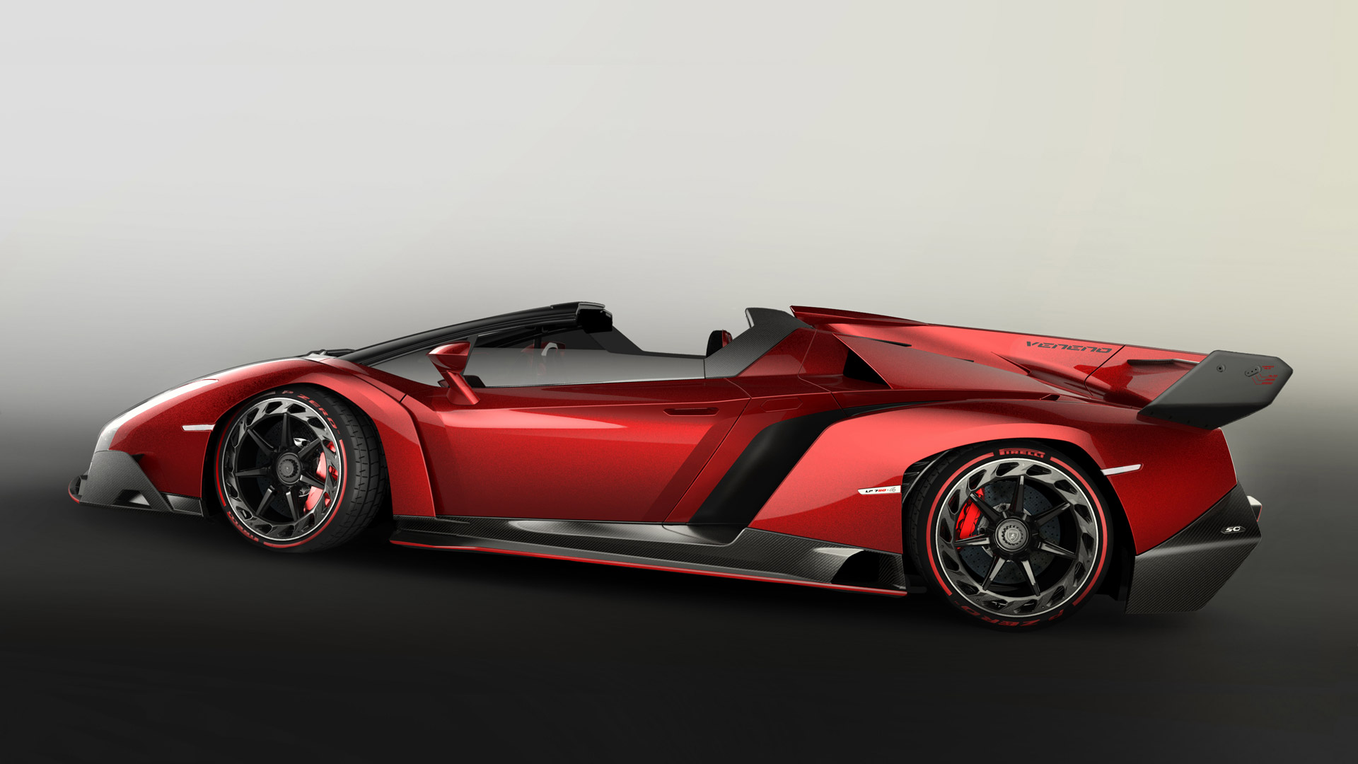 download Veneno Roadster Widescreen Wallpapers