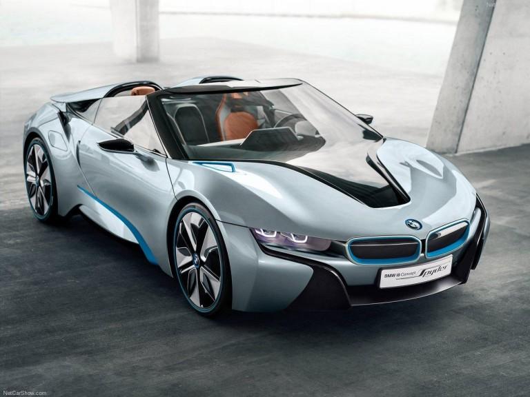 BMW i8-Spyder concept