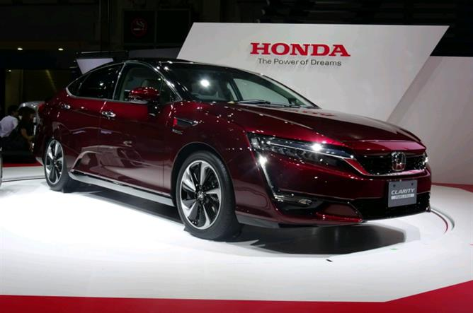 Honda Hydrogen car Coming Soon In UK 2017