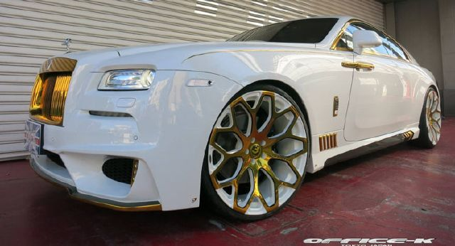 Rolls Royce Found Heavy On Gold