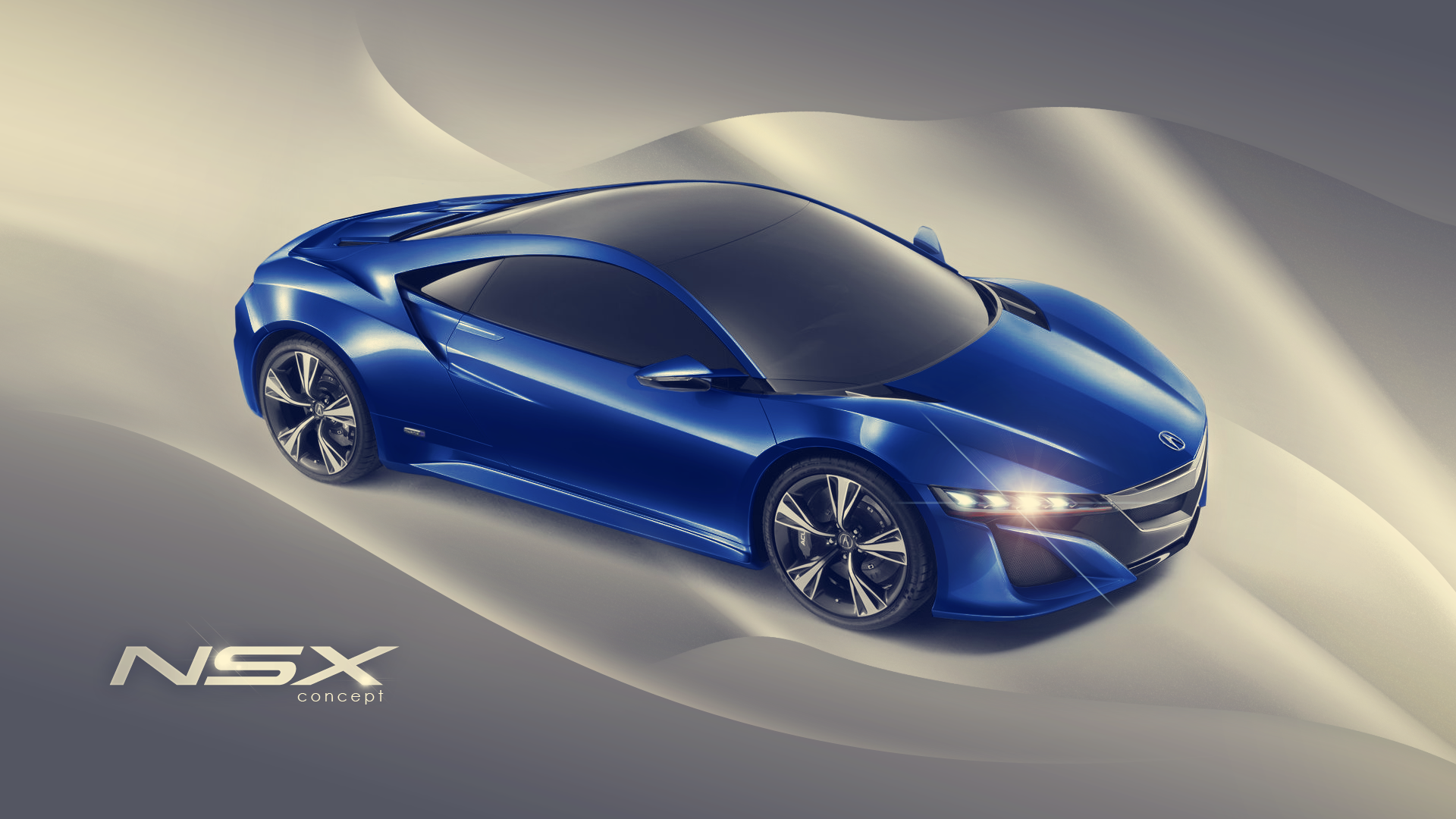 download Acura NSX Concepet Wallpaper