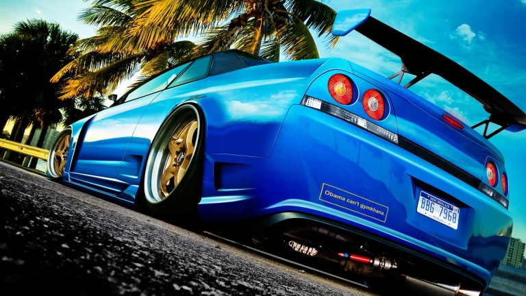 download Car Back View Wallpapers and Pictures