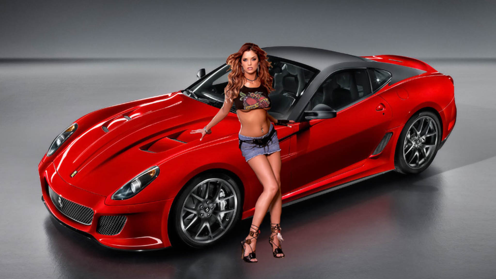 download Girl With Car Awesome Picture