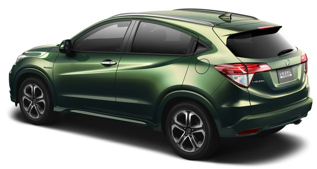 Hybrid Car Honda Vezel Car
