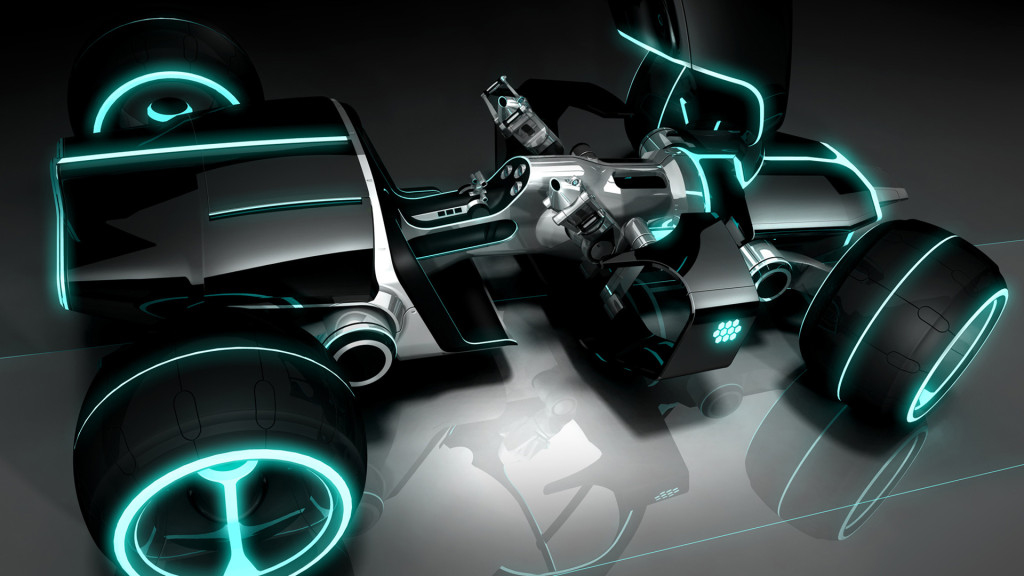 download Tron Legacy Car Wallpapers