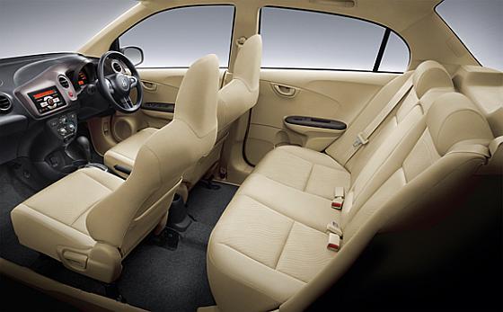 Honda Amaze car Interior-3