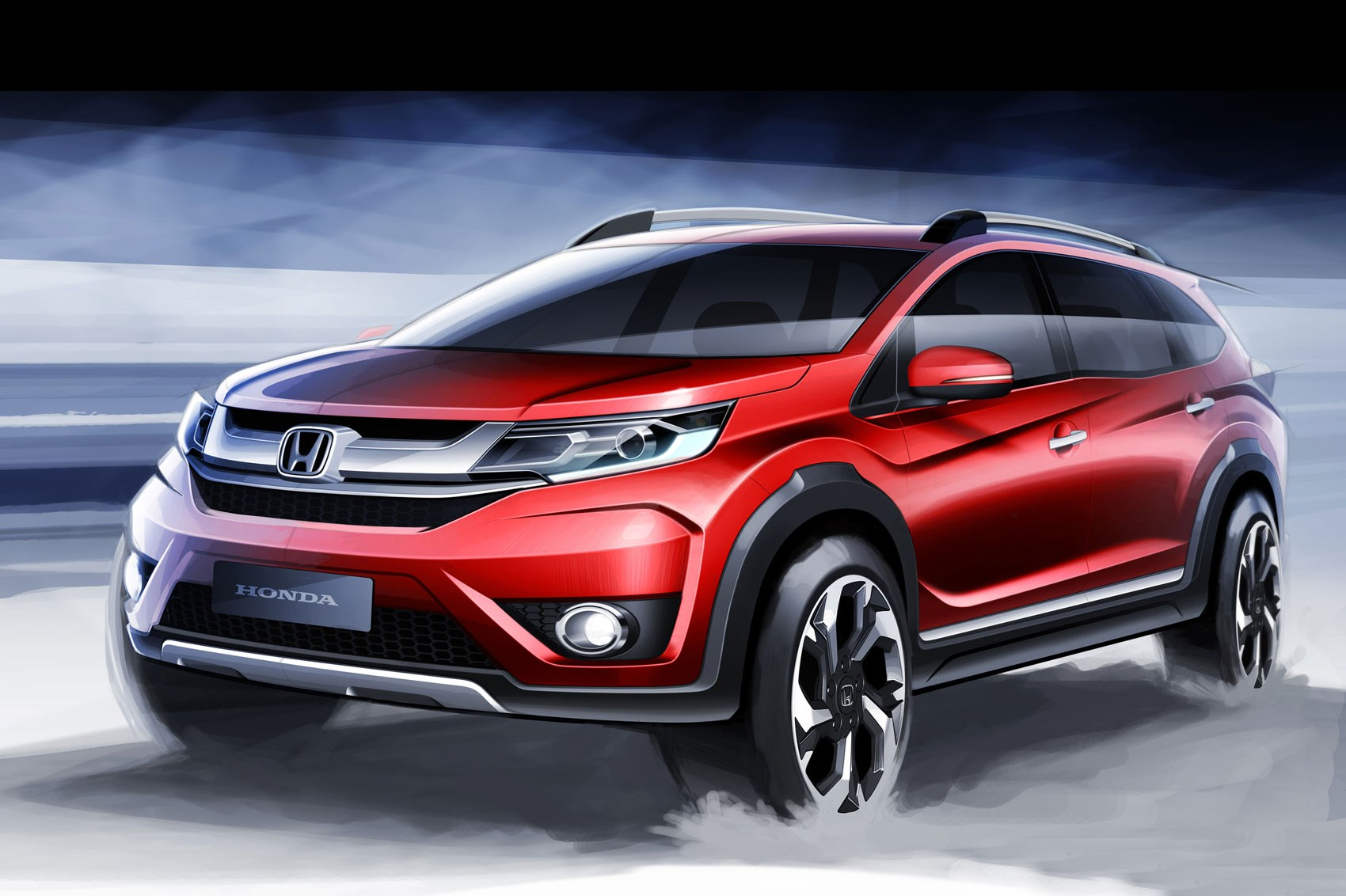 Honda BR-V Compact SUV Expected Launch in India - My Site