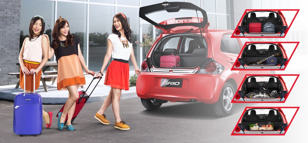 Honda Brio Luggage Compartment-5