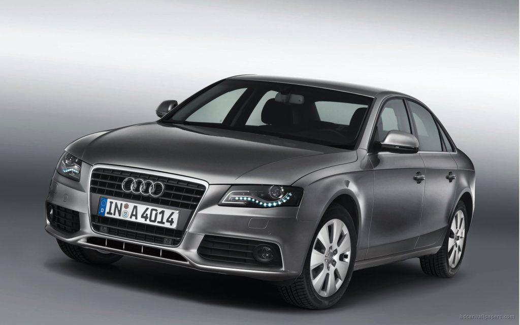 Audi A4 TDI concept car