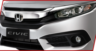 CIVIC car Front Pakistan Model-2016